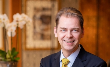 Mr. Peter Pottinga, General Manager, InterContinental Budapest