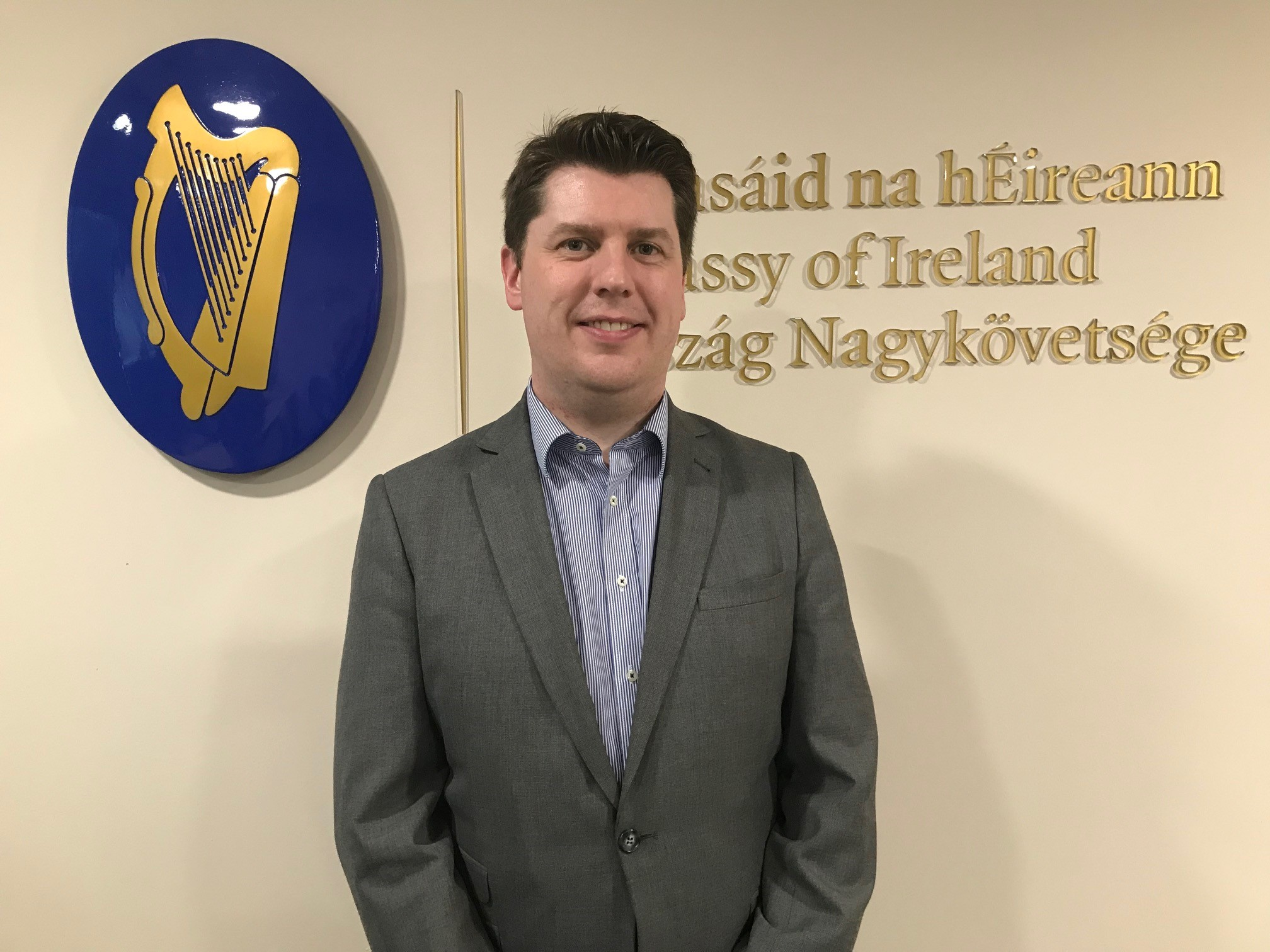 Ronan Gargan, Irish Ambassador To Hungary