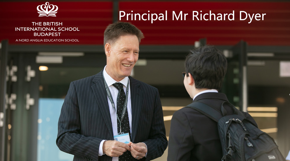Interview 3: Richard Dyer, Principal, The British International School, Budapest
