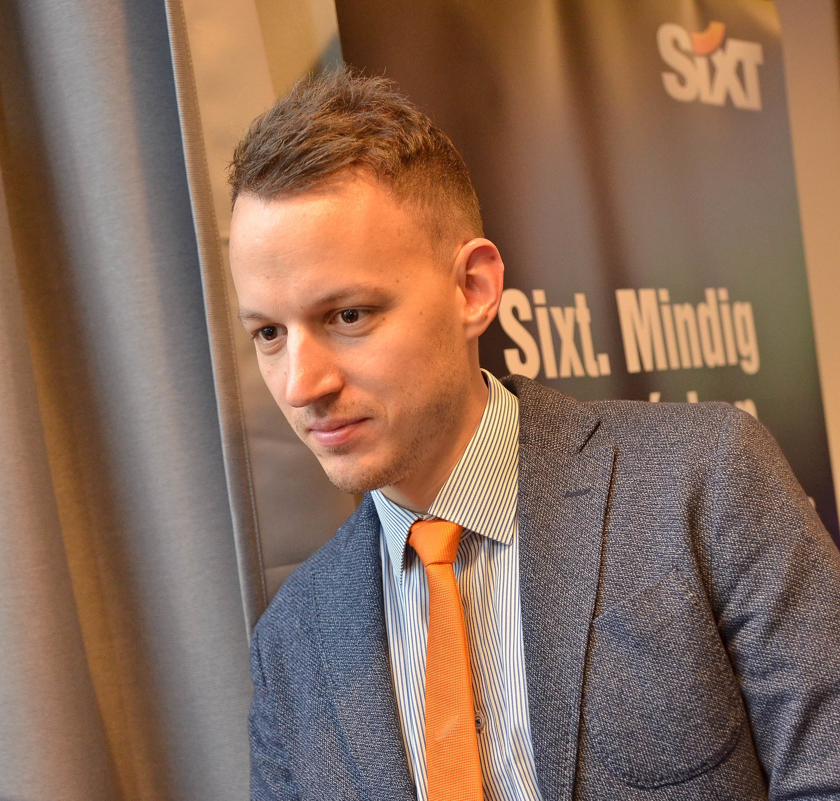 Ádám Schmidt, Director of Sales, Marketing & Business Development,  Sixt Hungary