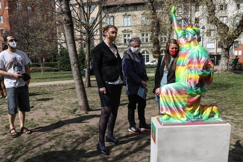 Péter Szalay, Artist & Creator of 'Black Lives Matter' Sculpture in Budapest