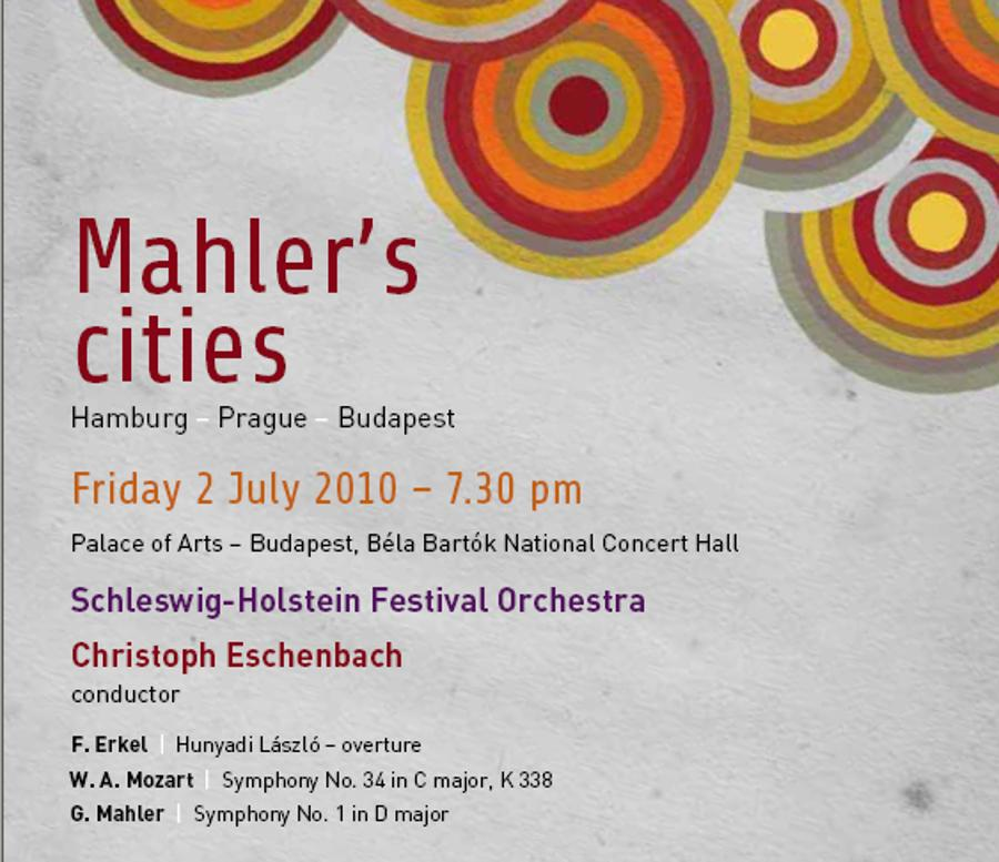 'Mahler's Cities' Palace Of Arts, 2 July