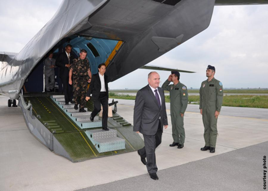 Hungarian Defense Minister And U.S. Ambassador Visit Troops In The Balkans