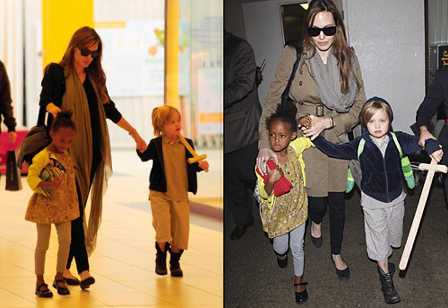 Updated: Jolie Children Start Expat School in Budapest