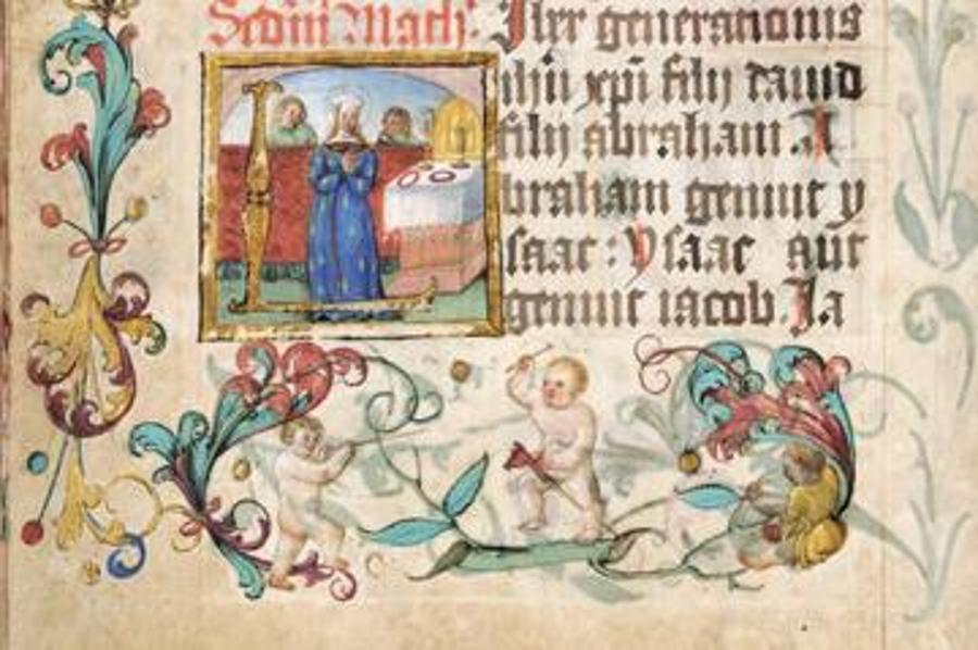 Biblia Scripta  Exhibition,  Pannonhalma Archabbey, Until 11 November