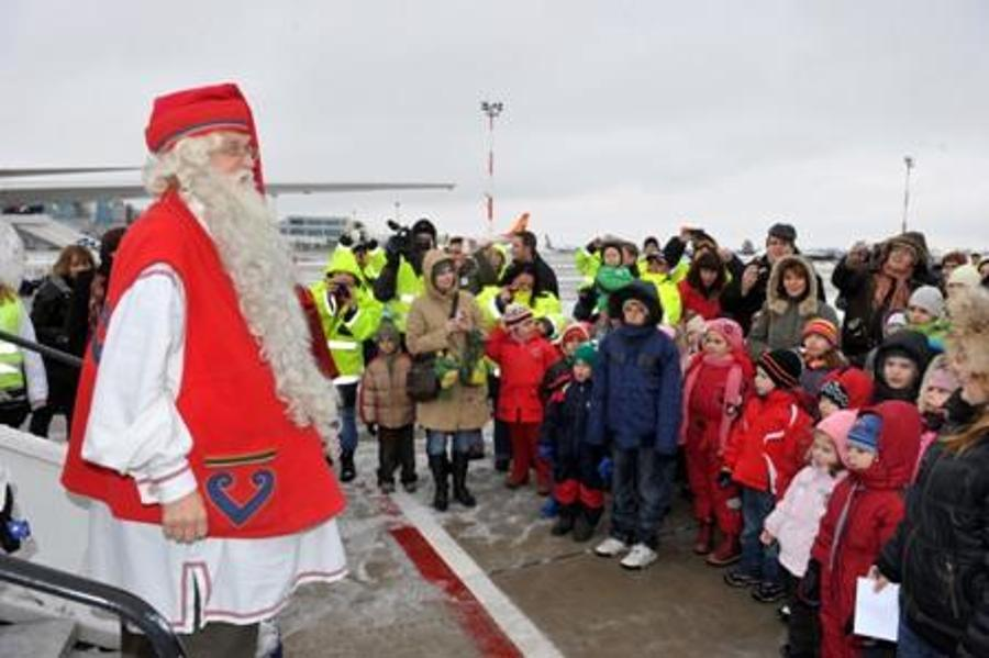 Finnish Father Christmas Already Visited Hungary