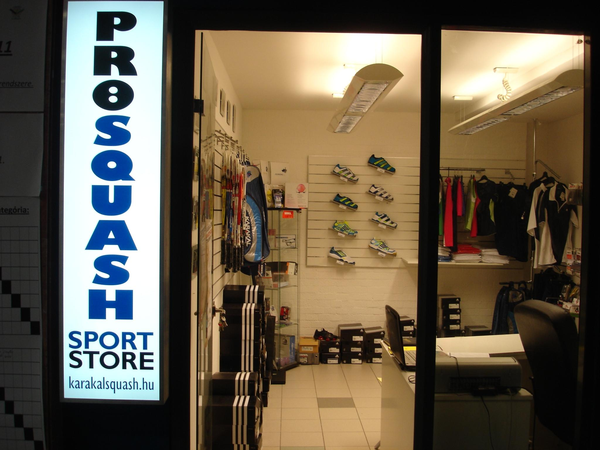 Introducing ProSquash Sport Store In Budapest