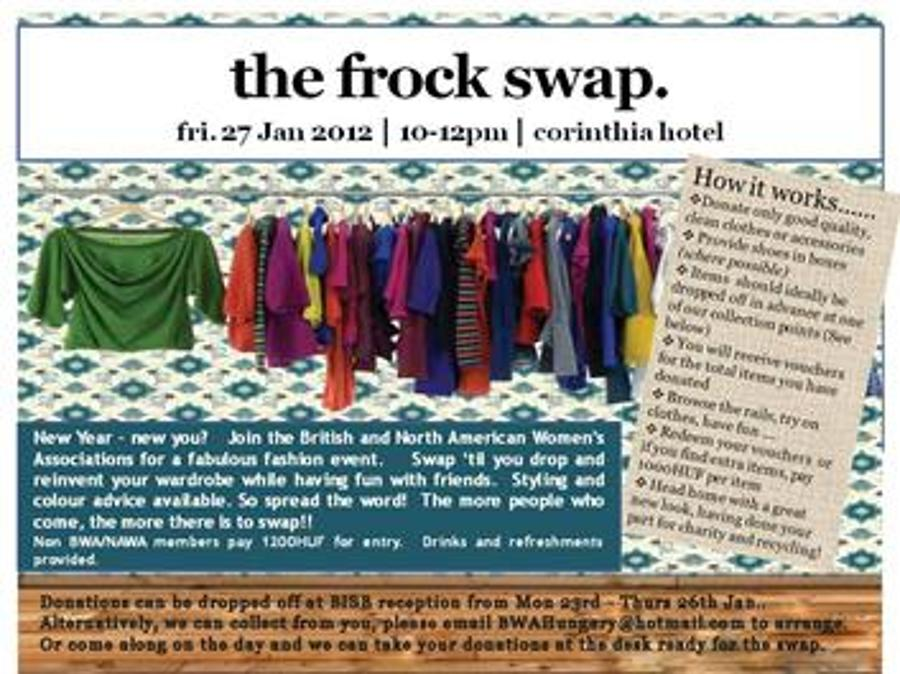 Shopping Without Spending At NAWA-BWA Frock Swap
