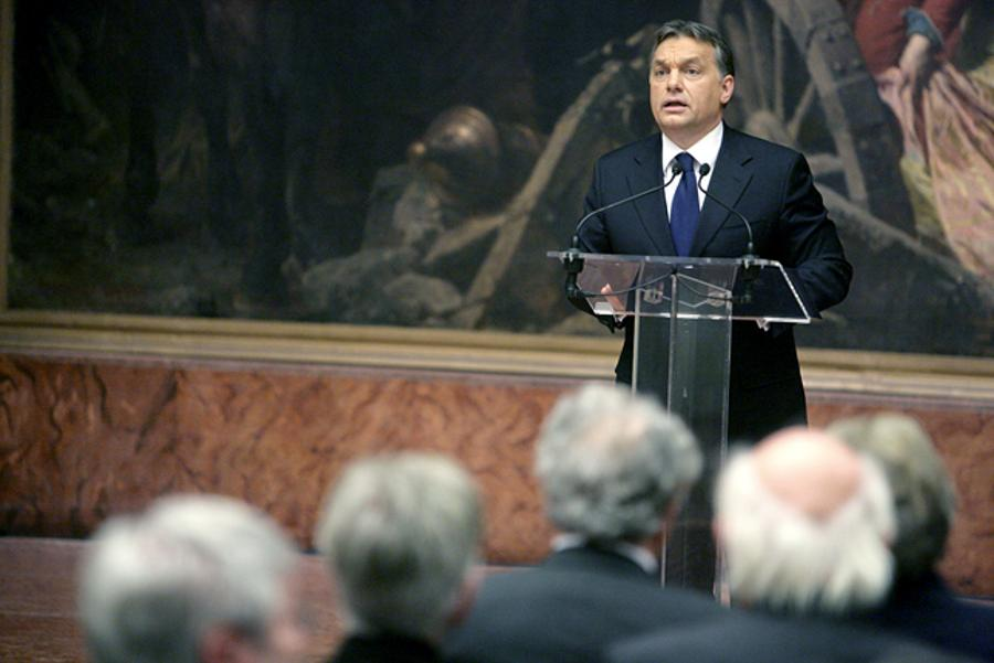 Hungarian PM Orban Opens Public Service University