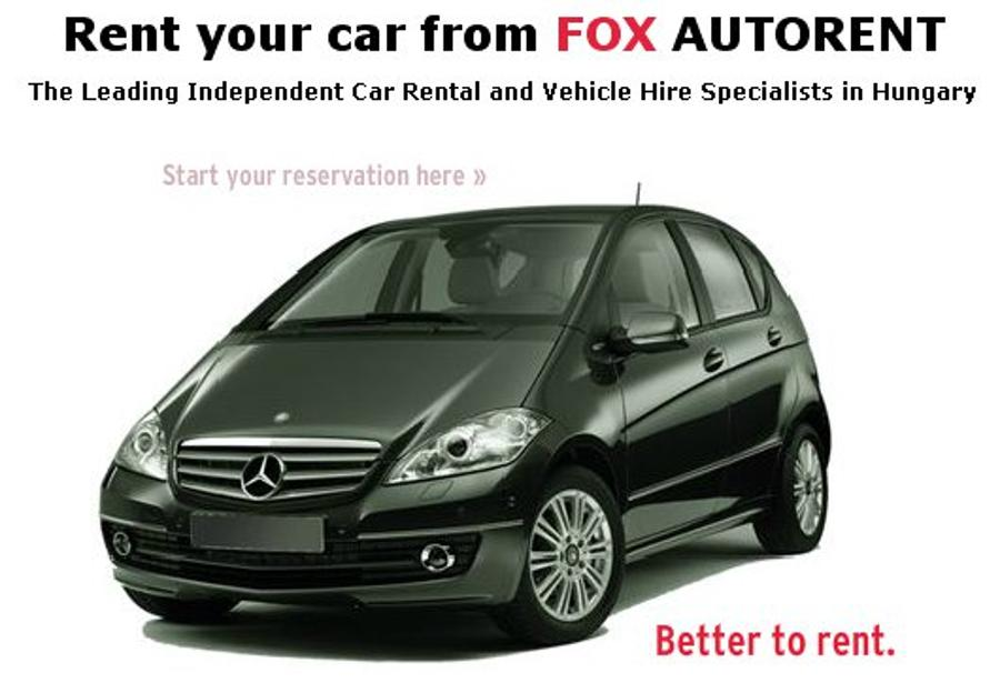 Rent Your Car From Fox Autorent