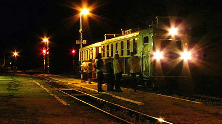 Night of Museums, Children's Railway, Budapest, 16 June