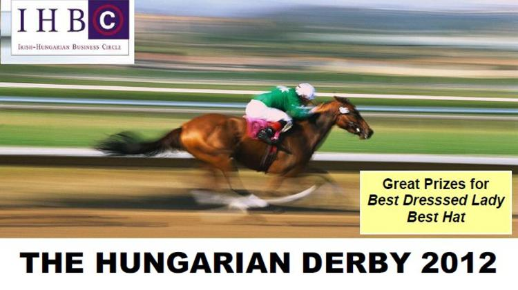 Invitation: The Hungarian Derby, 1 July  2012