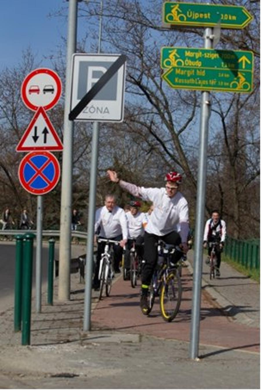 Community Announcement: Bicycle Training – Budapest