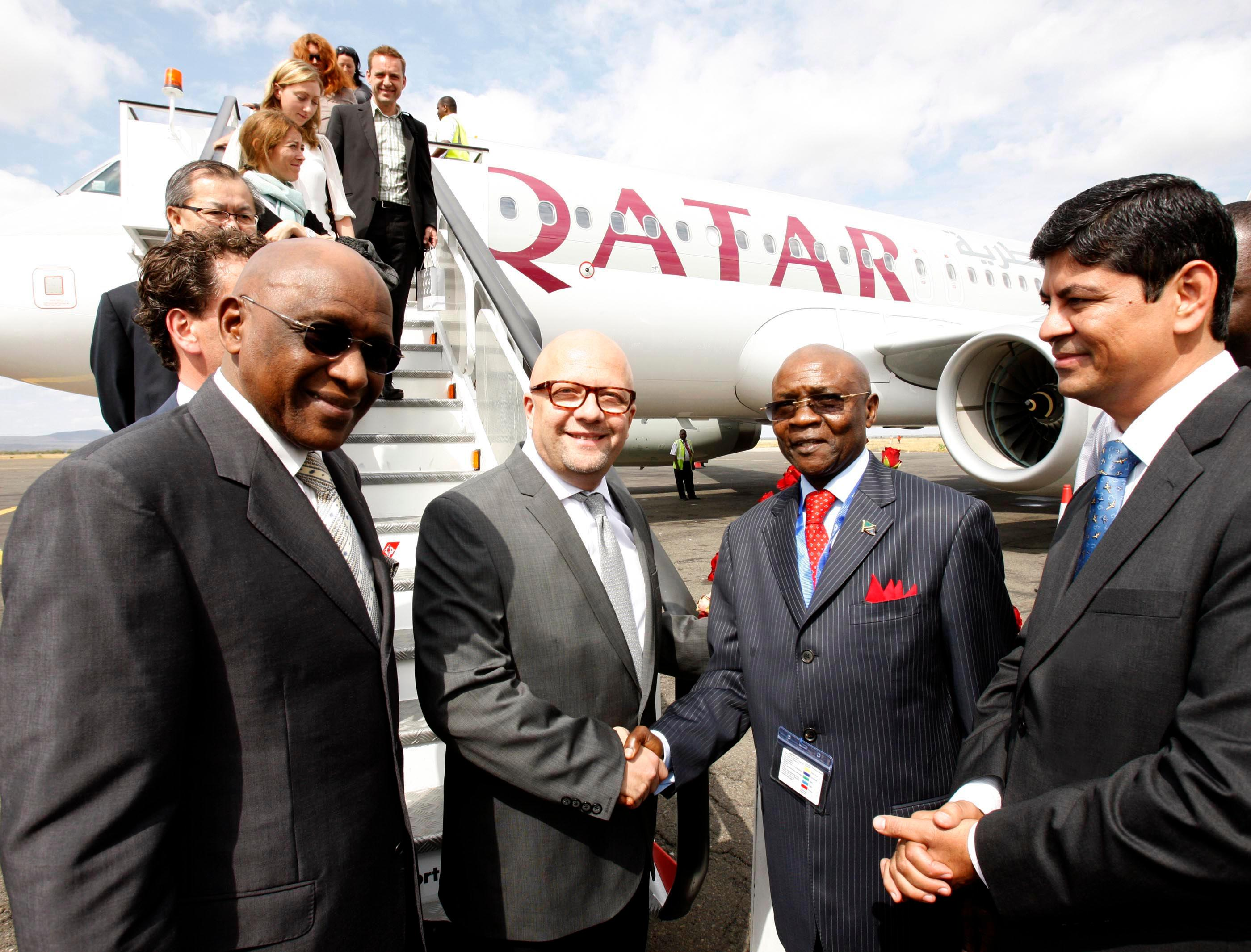 Qatar Airways Expands African Network To Kilimanjaro