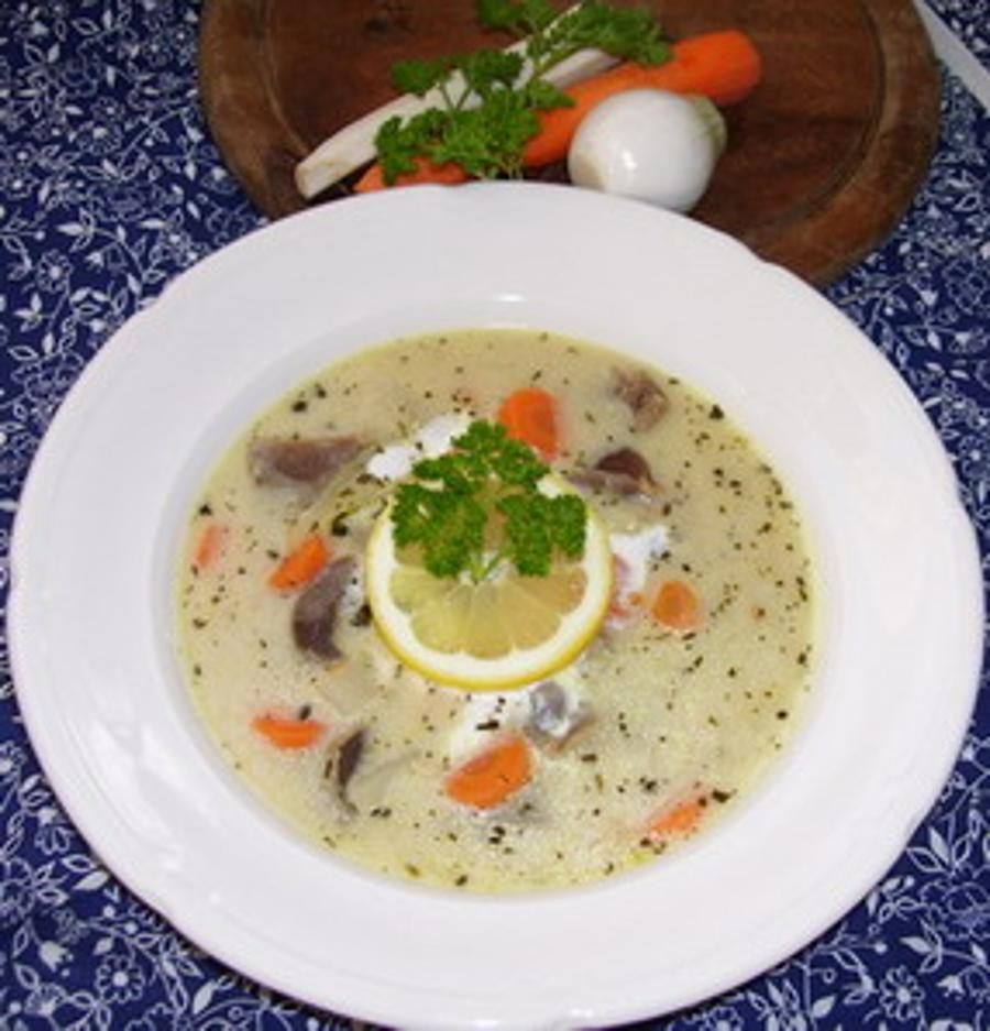 Hungarian Recipe Of The Week: Gizzard Soup With Tarragon