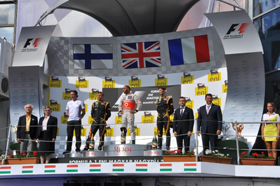 All-Time High Number Of Spectators At The Formula 1 ENI Hungarian Grand Prix
