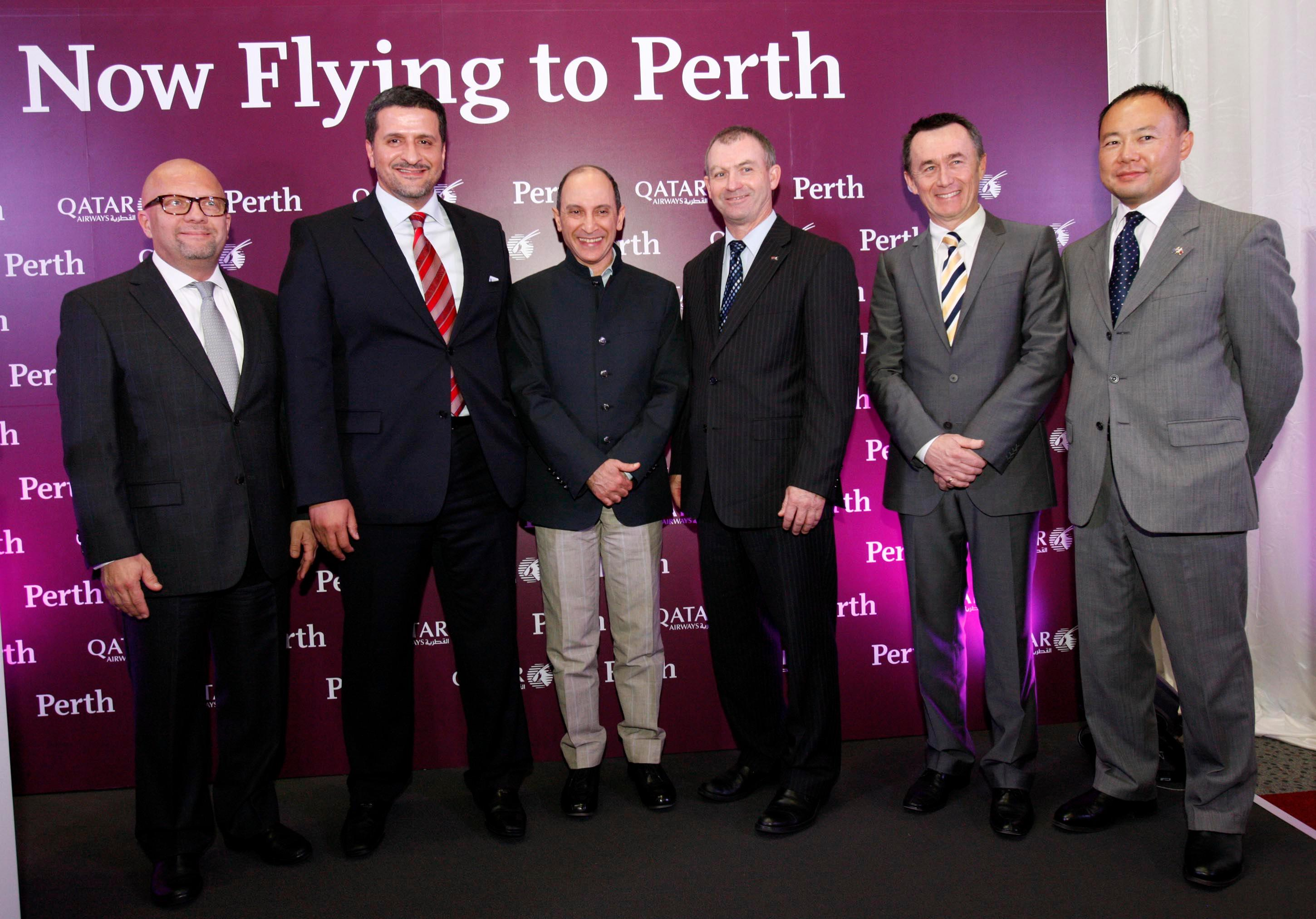 Qatar Airways Celebrates Launch Of Flights To Western Australia