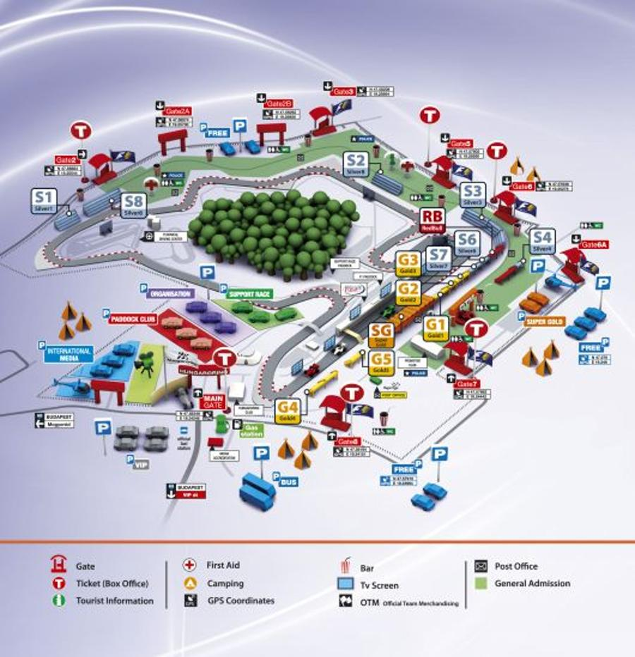 2012 Hungarian Grand Prix: Circuit Guide & Drivers View