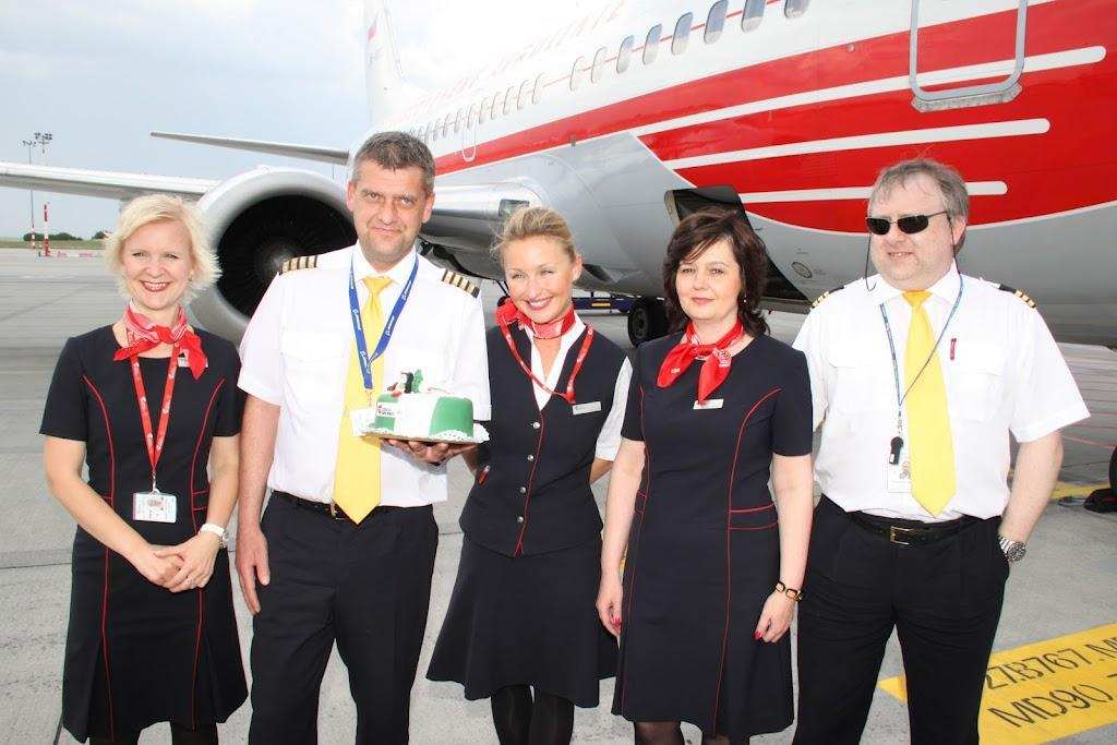 75th Anniversary Of Czech Airlines Prague-Budapest Route