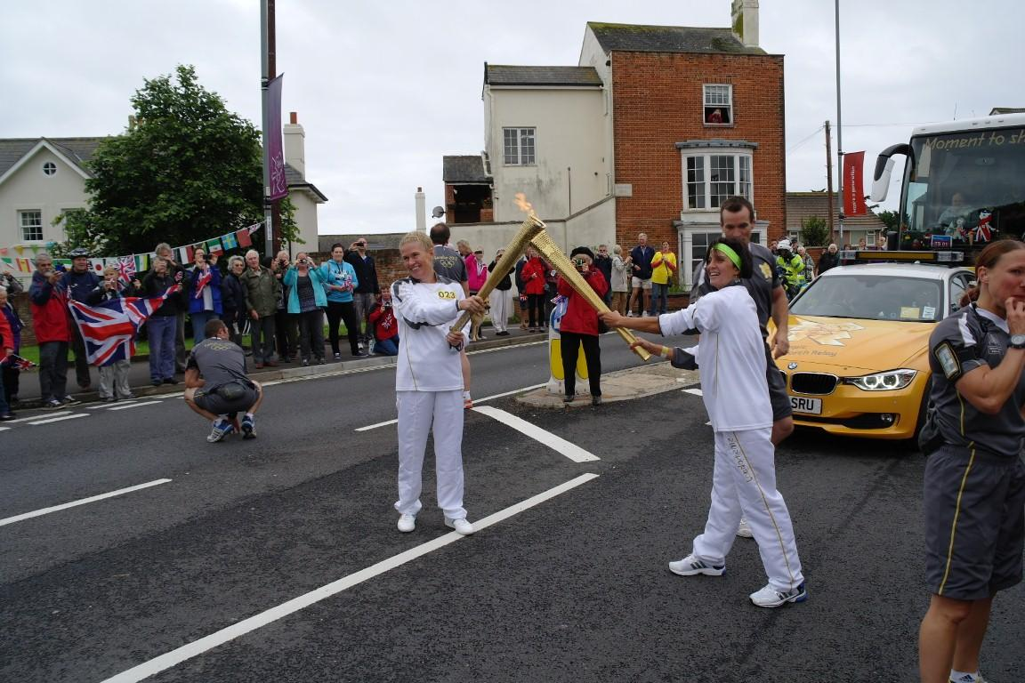 British Embassy: Guest Blog By Olympic Torch Bearer Andrea Snow