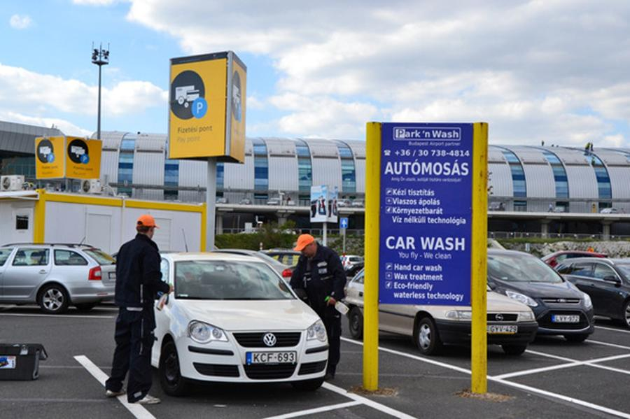 Budapest Airport Launches Environmentally Friendly Car Wash Service