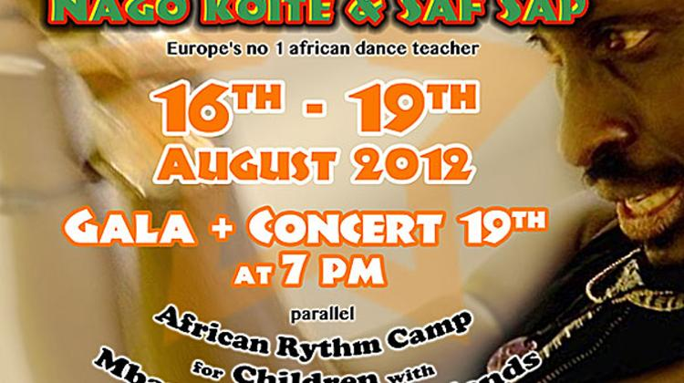 Invitation: Africa Hot Rhythm & Dance Workshop, Bakelit Multi Art Center Budapest