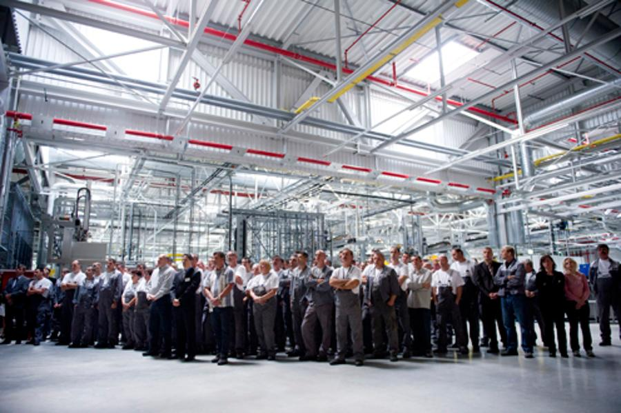 Opel's 500 Million Euro Factory Expansion In Szentgotthárd, Hungary