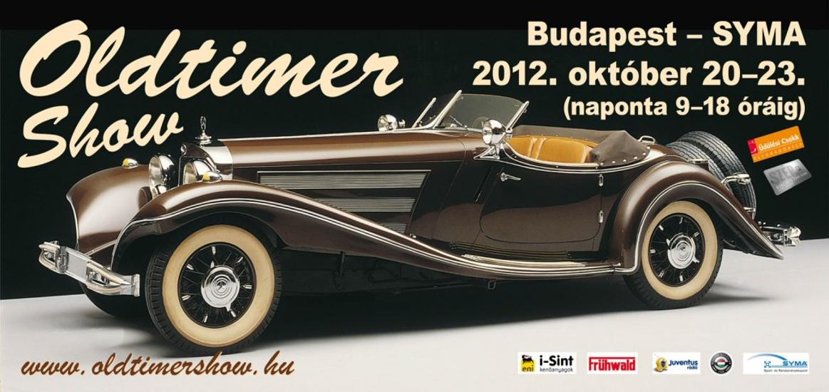 Invitation: Old Timer Car Show, Syma Hall Budapest, 20 - 23 October