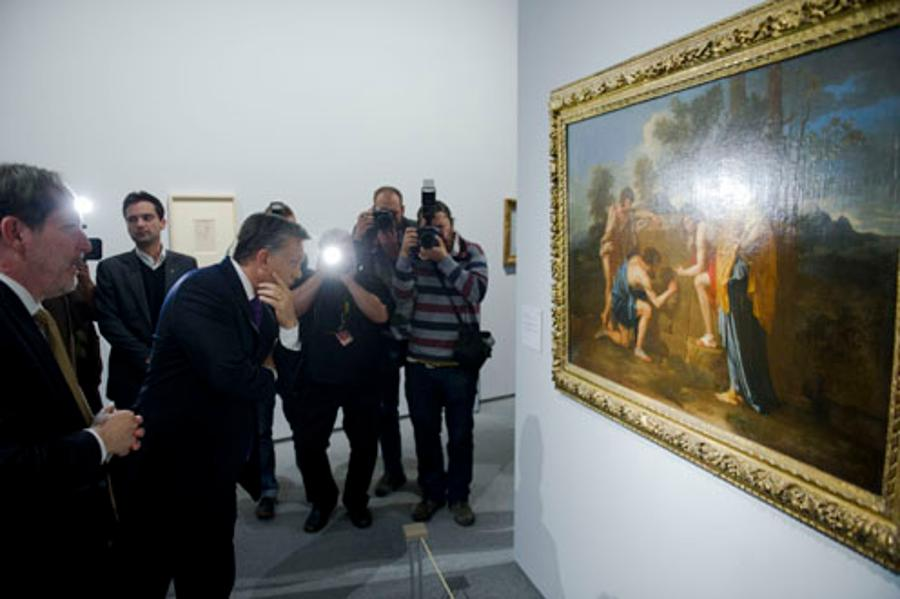Hungary's PM And Head Of London's National Gallery Open Cézanne Exhibition In Budapest
