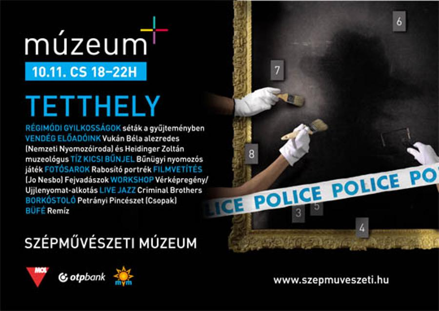 Invitation: 'Múzeum+' Event, Museum Of Fine Arts Budapest, 11 October