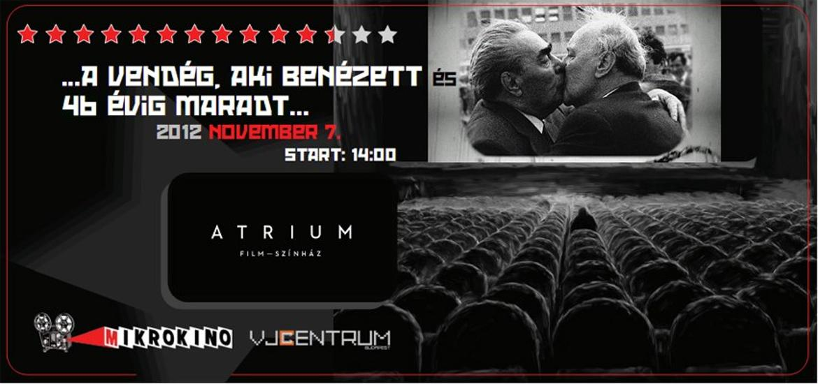 Merlin Theater Has Moved To The Former Átrium Cinema In Budapest
