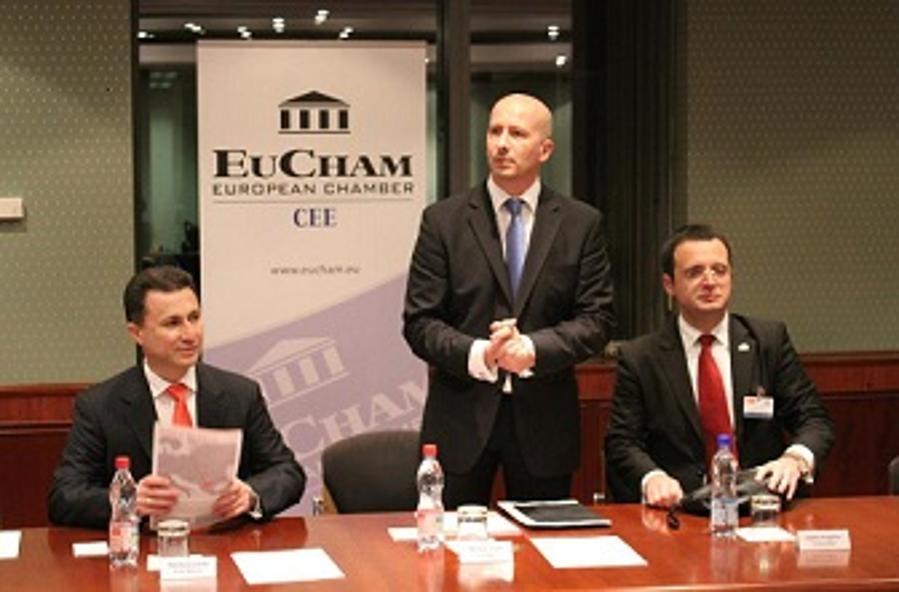 Xpat Report: The Prime Minister Of Macedonia At EuCham In Budapest