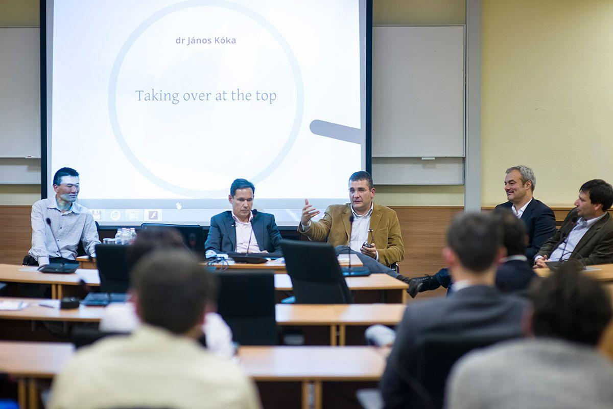 Xpat Report: CEU Business School Roundtable About What Venture Capitalists Really Do