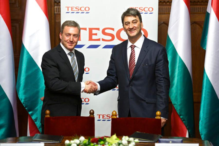 Strategic Agreement Between  Hungary & Tesco-Global Stores
