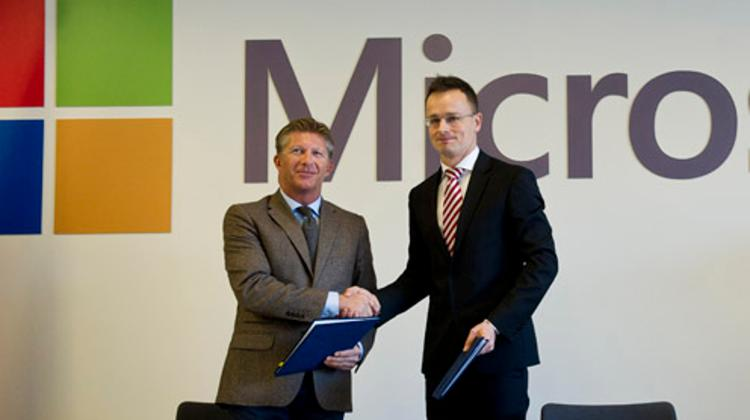 The Government Signs A Strategic Partnership Agreement With Microsoft Hungary