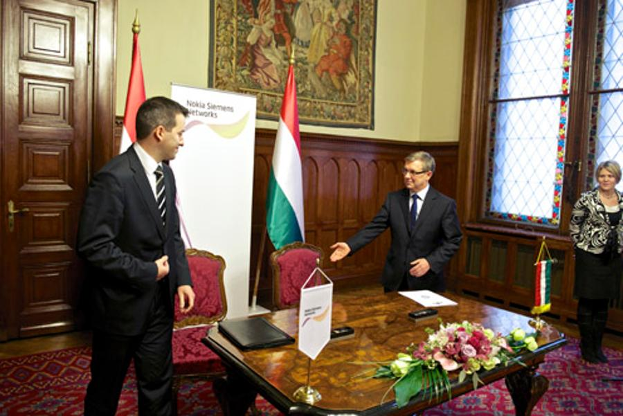 Strategic Partnership Agreement Signed With Nokia Siemens Network In Hungary