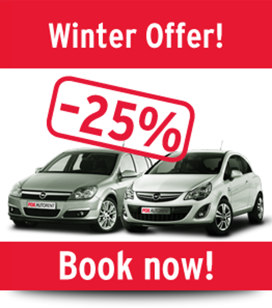 Winter Holiday Discount From FoxAutorent Budapest