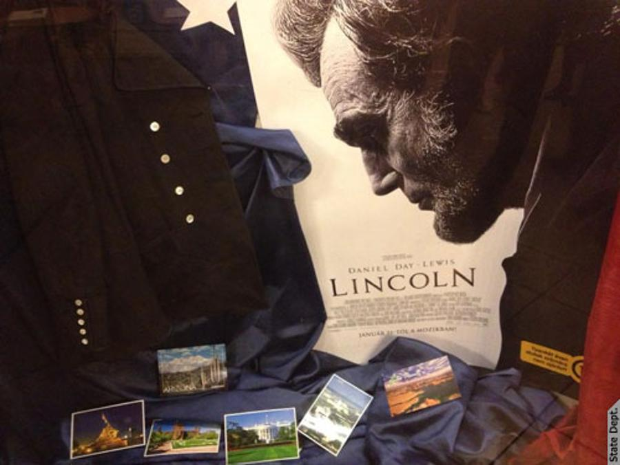 U.S. Embassy In Budapest  Screens Lincoln