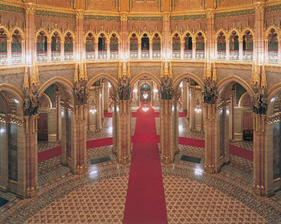 Guided Tours Of The Hungarian Parliament Building