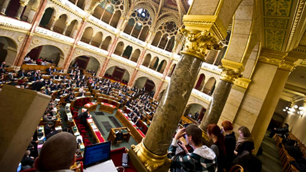 Hungary's PM Addresses Parliament At The Opening Of The Spring Session