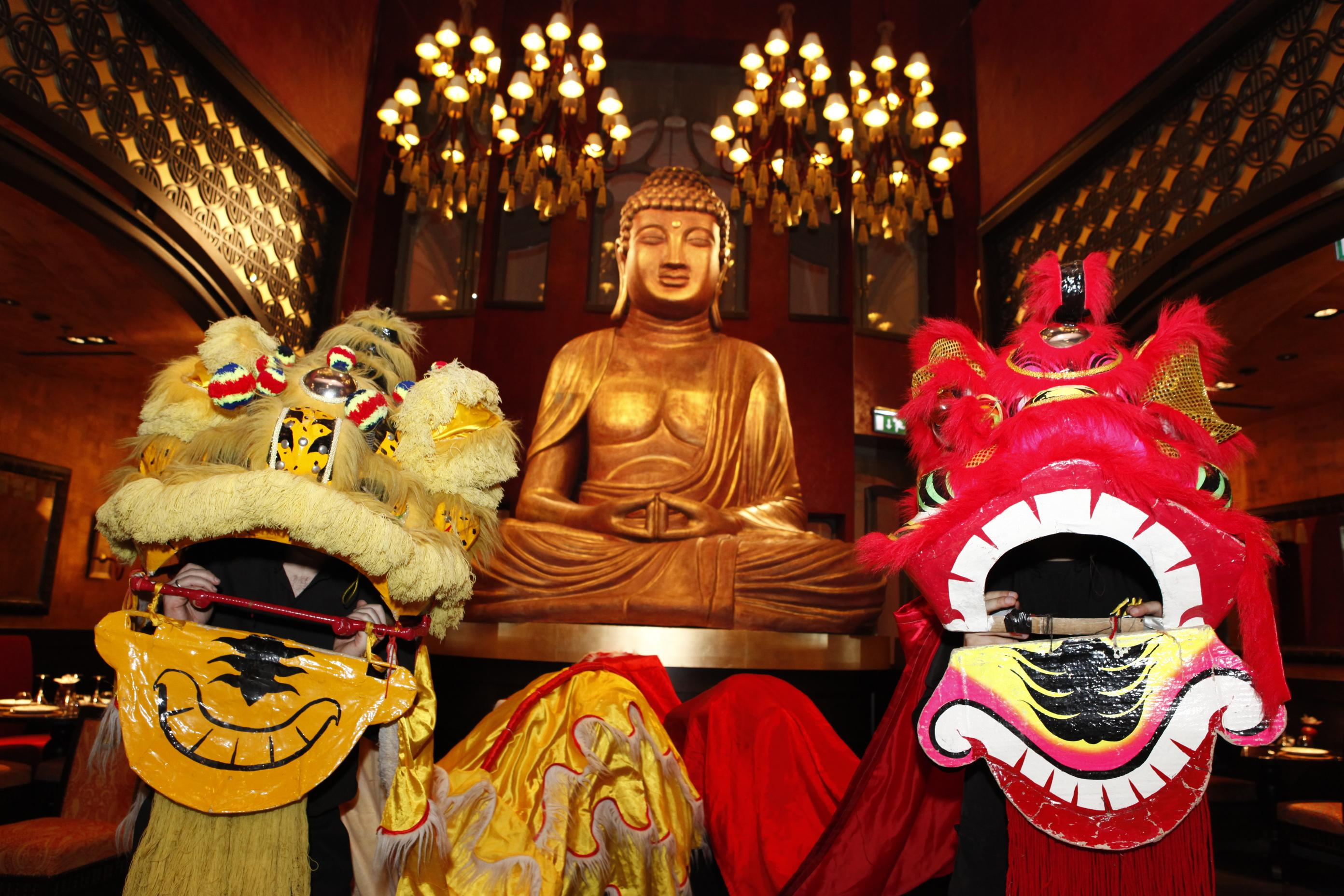 Invitation: Buddha-Bar Budapest Asian Lunar New Year's Eve Party, 9 February