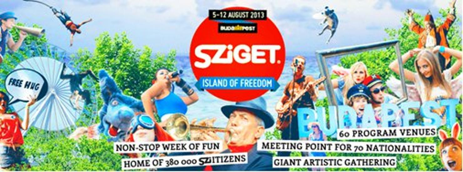 New Venue At Sziget Festival In Budapest: Cirque Du Sziget