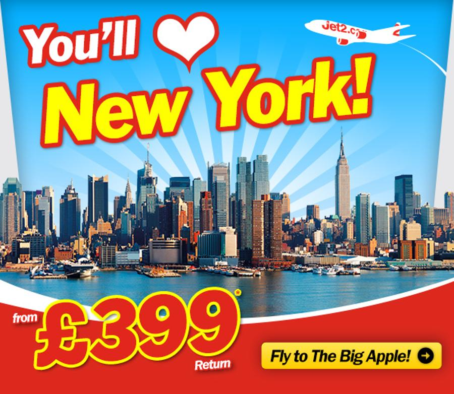 Have Your Heart Set On New York With Jet2.com
