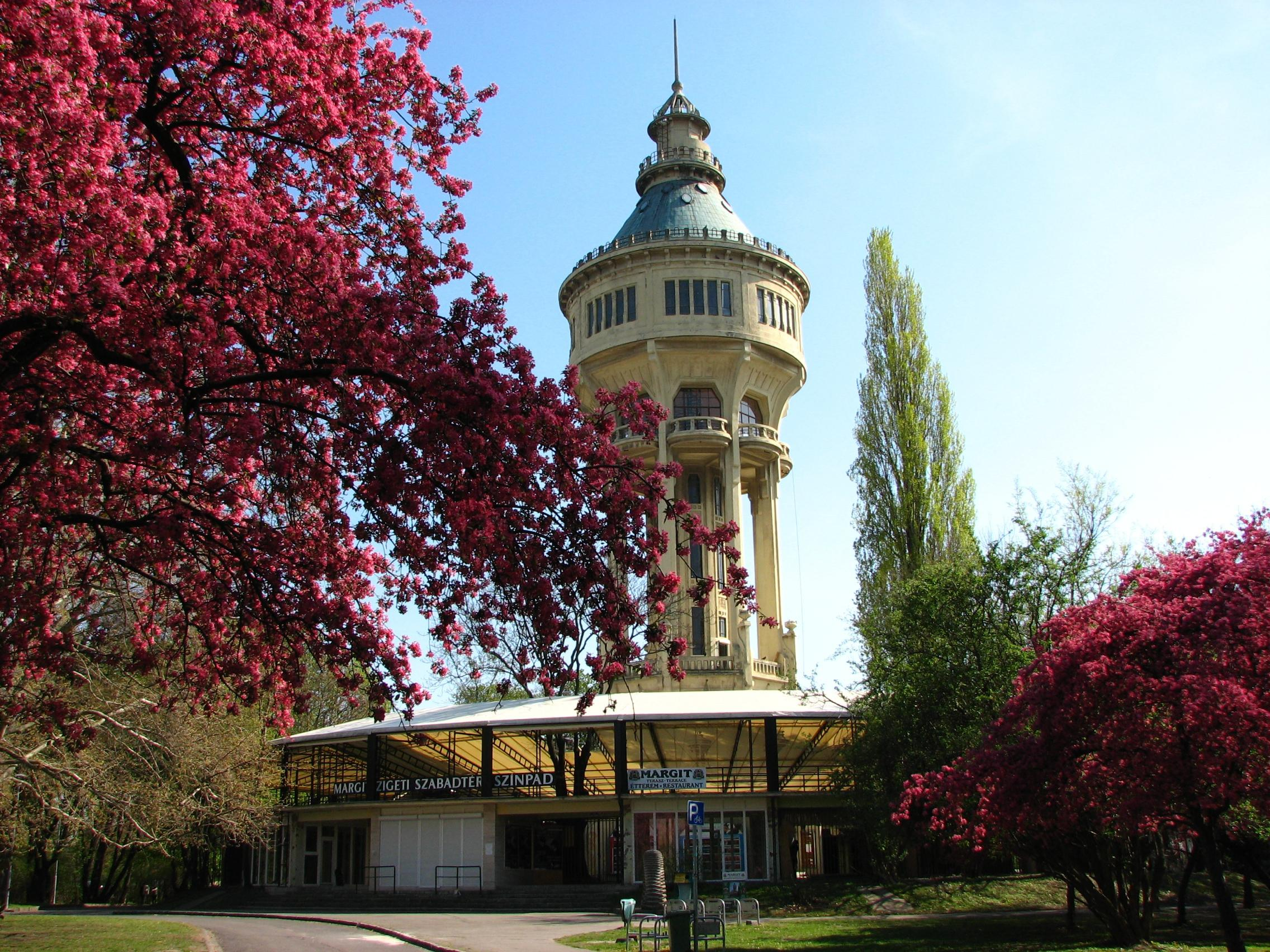The Water Tower Of Margaret Island In Budapest Turned 102 Years Old