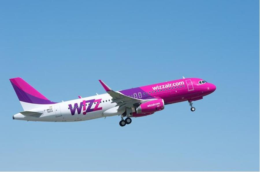 Wizz Air Hungary Takes Delivery Of Its First Airbus Sharklet Equipped A320