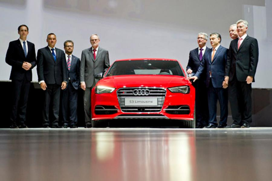 Audi Launches Production At Its New Plant In Győr, Hungary