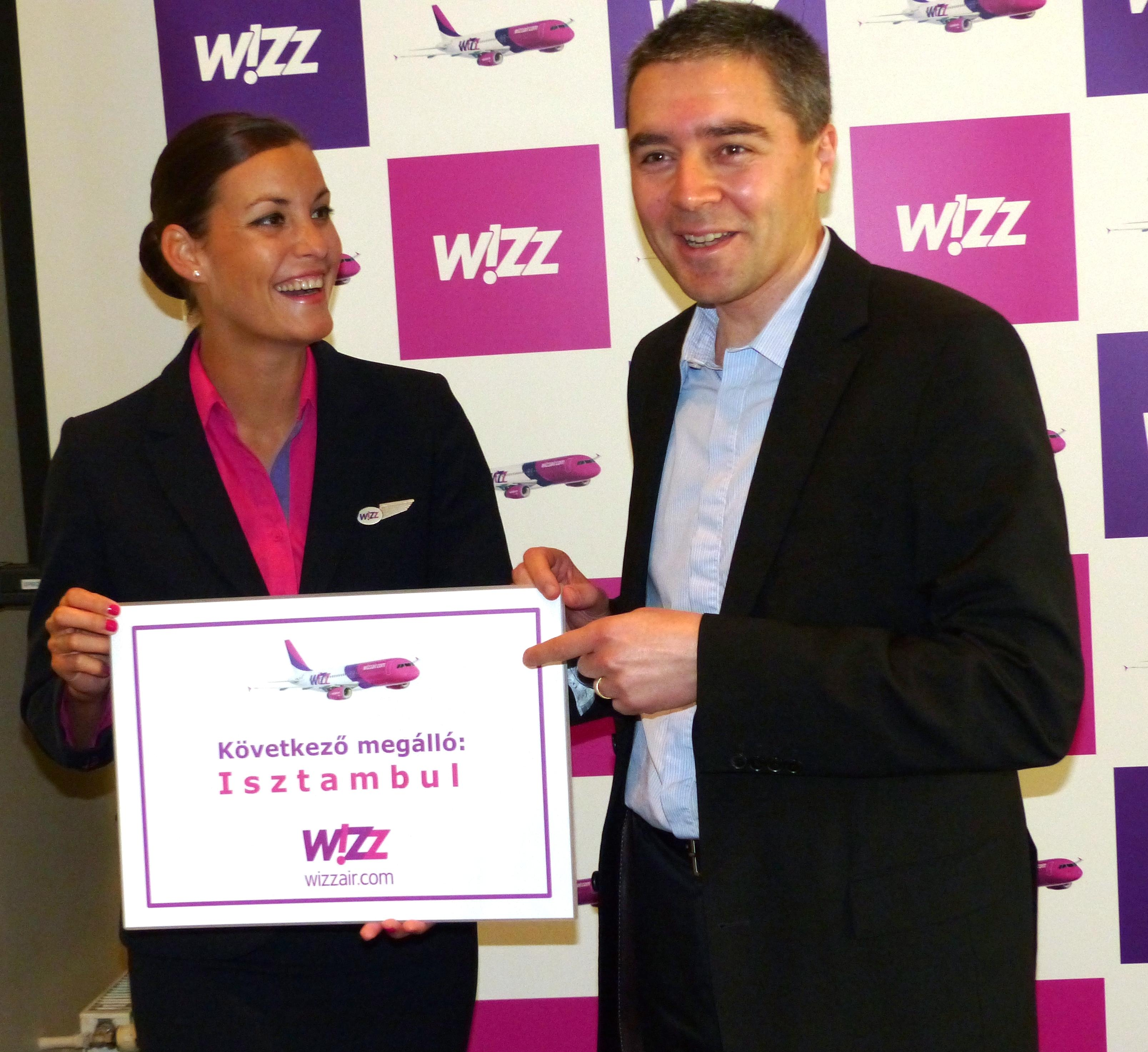 Wizz Air Opens Budapest - Istanbul Route In August