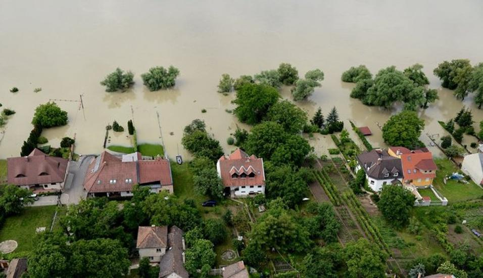 Emergency Message For U.S. Citizens: Rising Levels Of The Danube River
