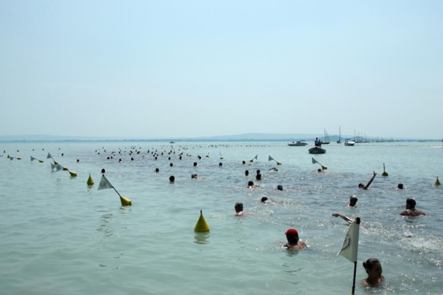 Cross-Balaton Swim In Hungary, 20 July