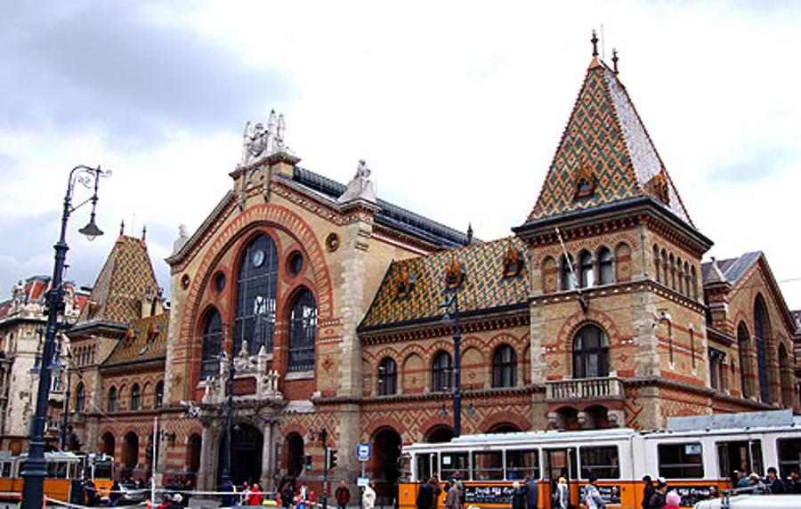 Budapest's Pantry - The  Central Market Hall